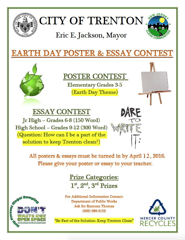 earthday essay contest Earth day photo & essay contest to improve impact and engage broader audiences, iges is currently assessing how to more effectively conduct its student contests.