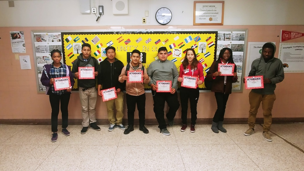 Perfect Attendance October