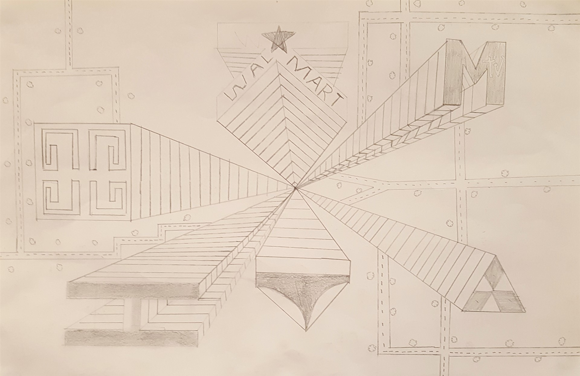 One-Point Cityscape