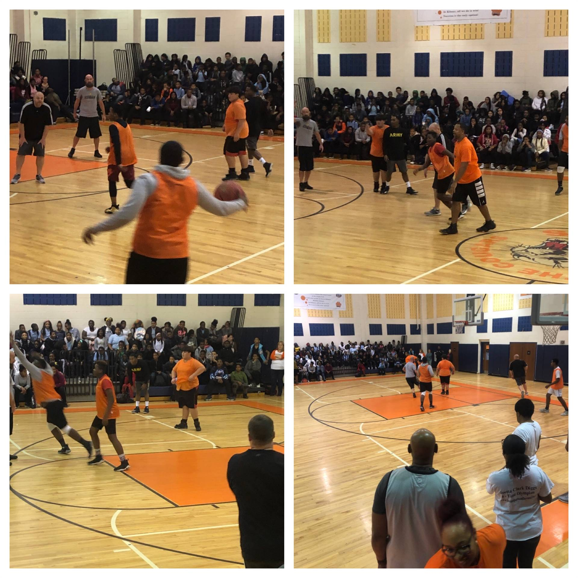 November Student vs Staff Basketball Game