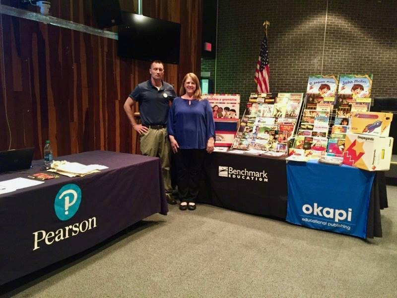05-31-18 World Language Textbook Adoption and Resource Fair in Ellis Auditorium