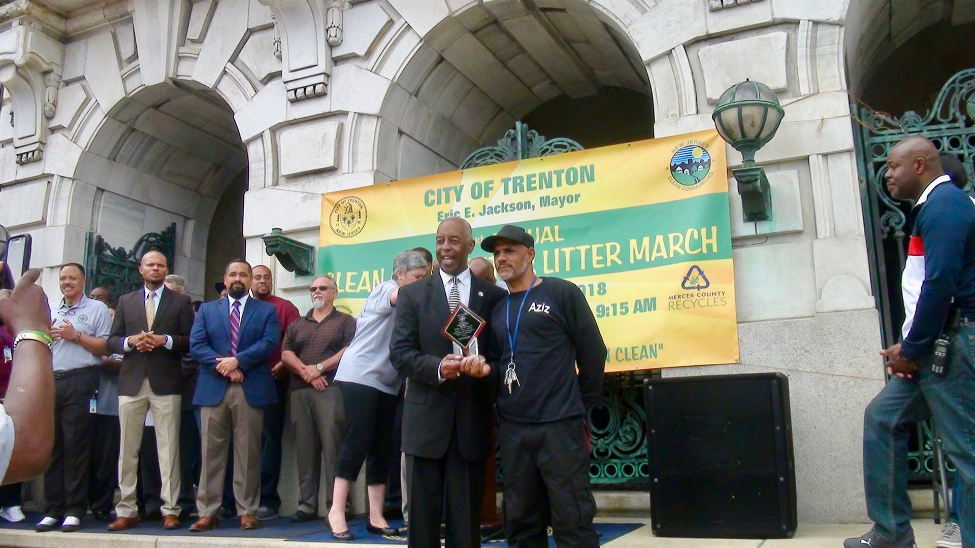 06-06-18 Trenton Public Schools Win Prizes at the 31st Annual Clean Communities Litter March!