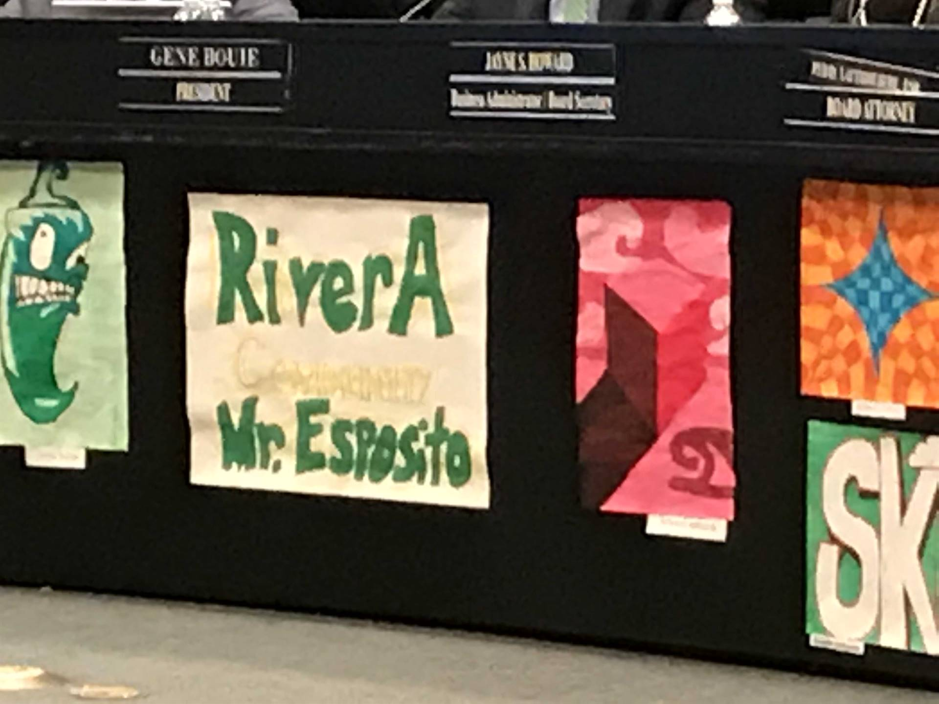 Art Work from Mr. Esposito's students