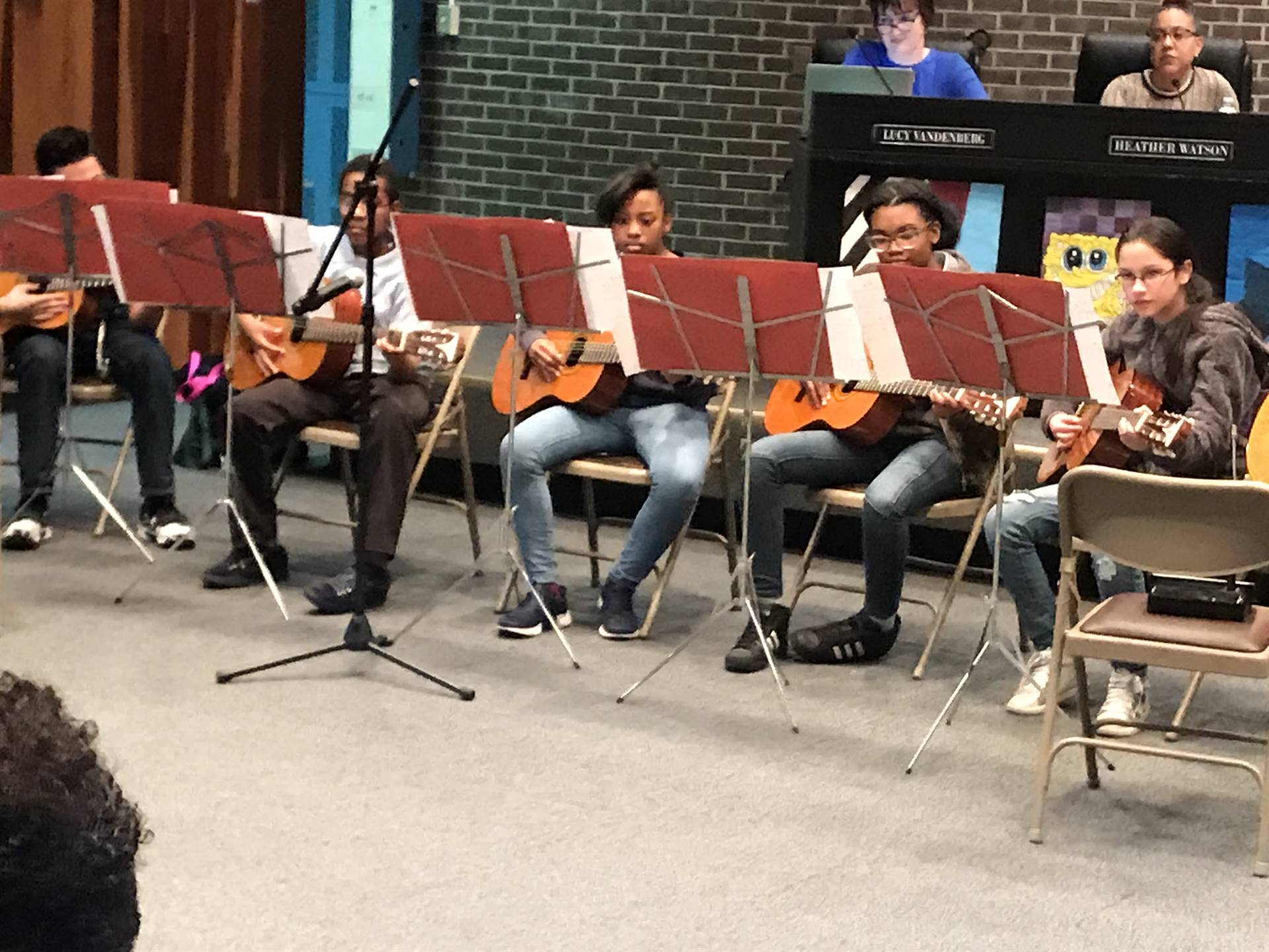 Amazing job done by the Guitar Ensemble