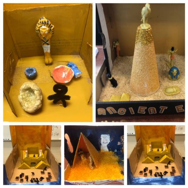 Mr. Jones' 6th grade classes (Ancient Egypt)