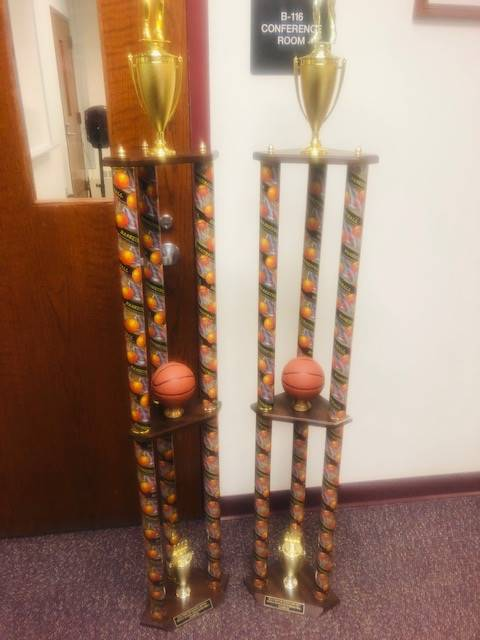Kilmer MS  Boys And Kilmer Girls Basketball Teams Trophy