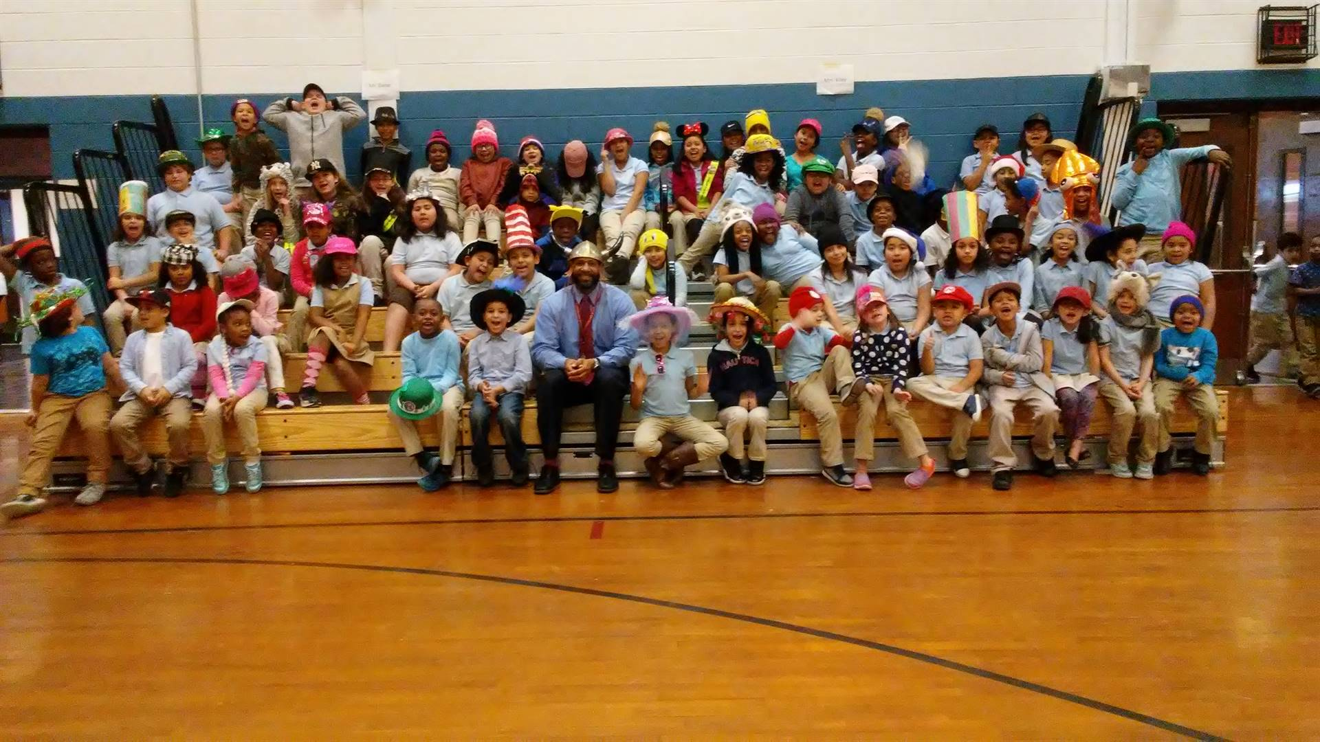 Hat Day at Mott