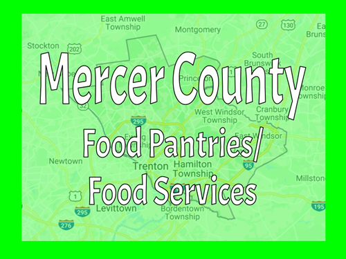 MERCER COUNTY FOOD PANTRIES / MEAL SERVICES